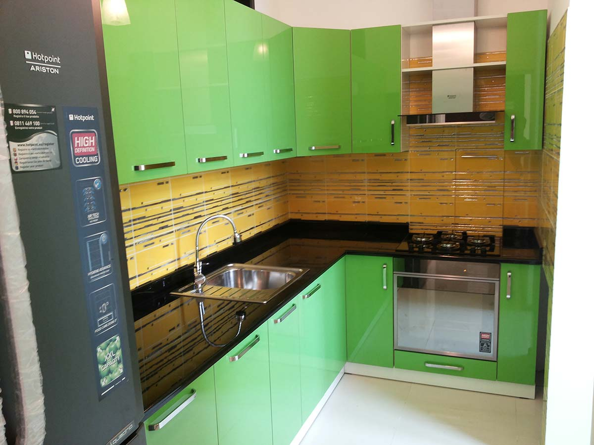 Кухня фасад Акрил 1
