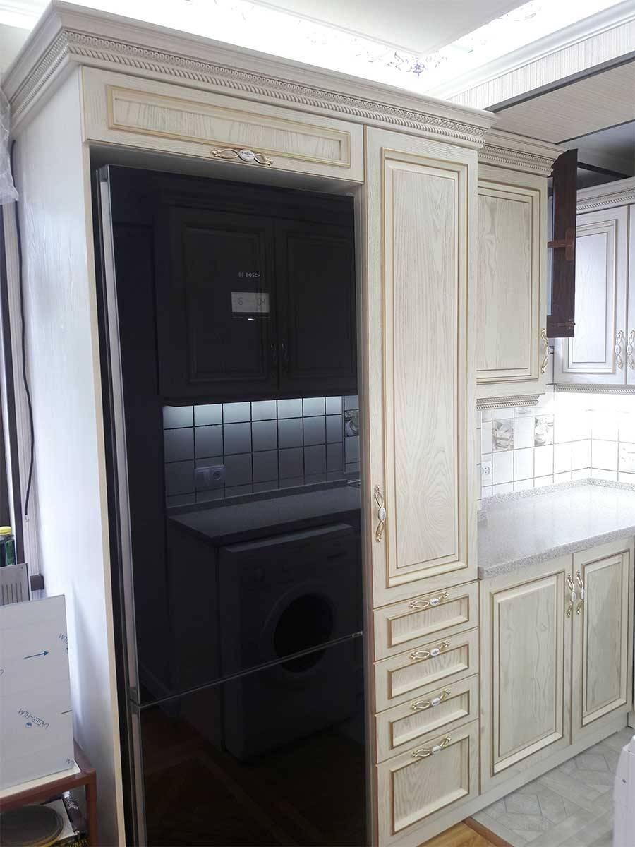 кухня фасад шпон 53