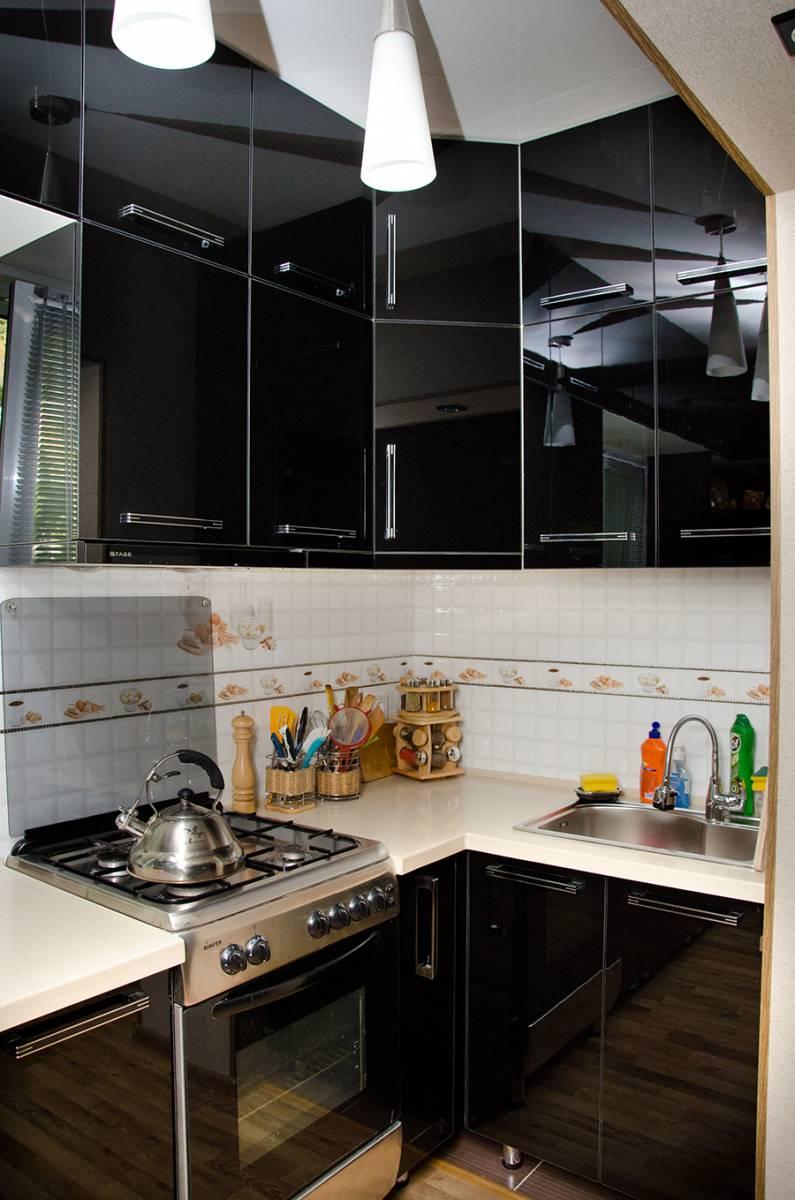 Кухня фасад акрил 11